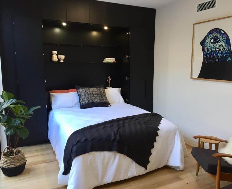 simple black and white bedroom ideas c.louise.d