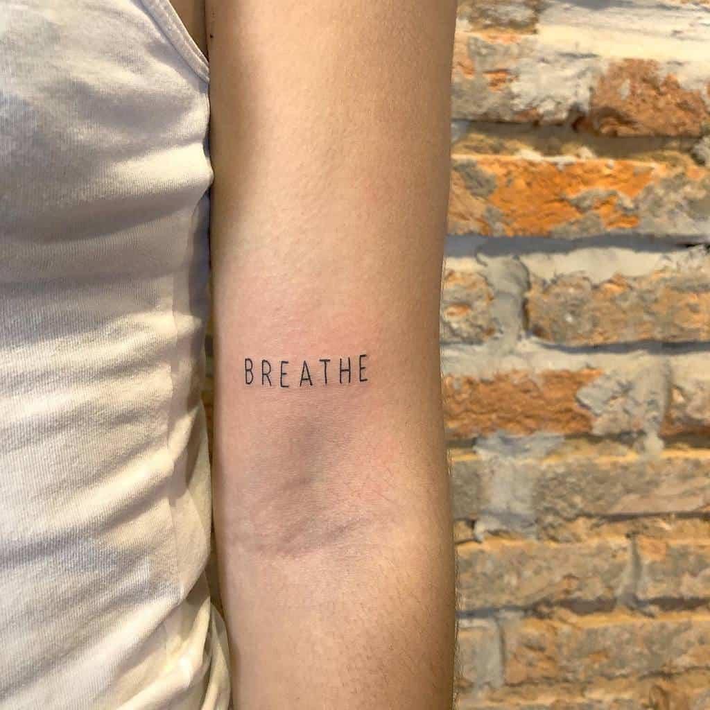 simple breathe tattoos fulvio.tm