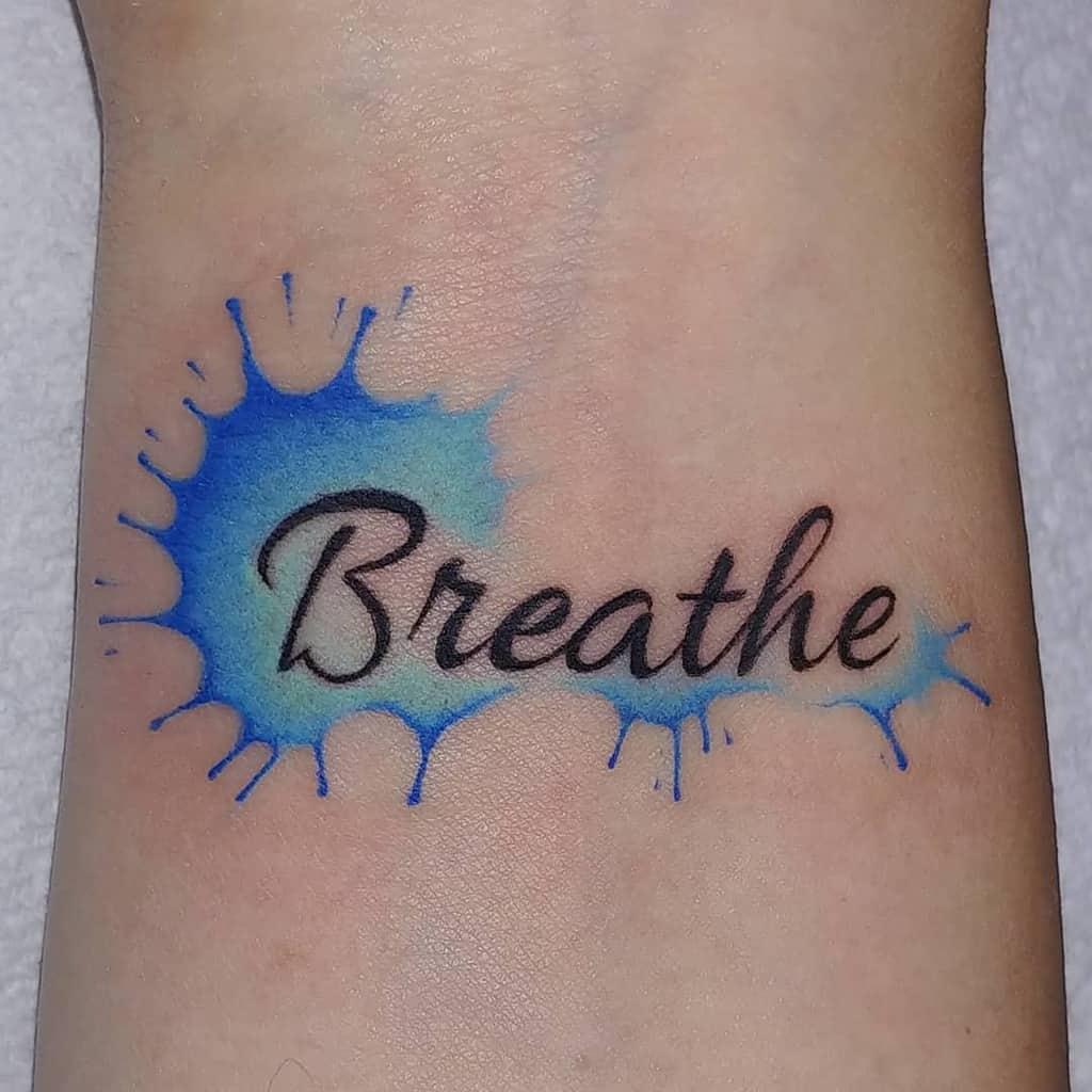 simple breathe tattoos tattoomercy