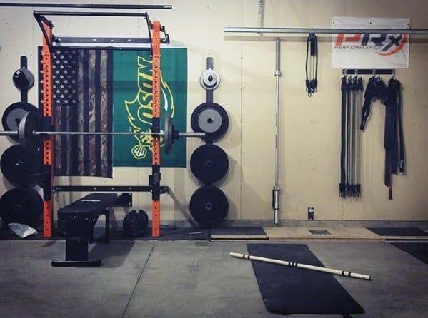 Simple Cheap Garage Gym Ideas
