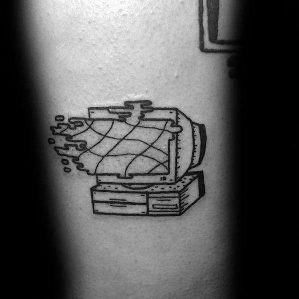 Simple Computer Guys Tattoo Ideas