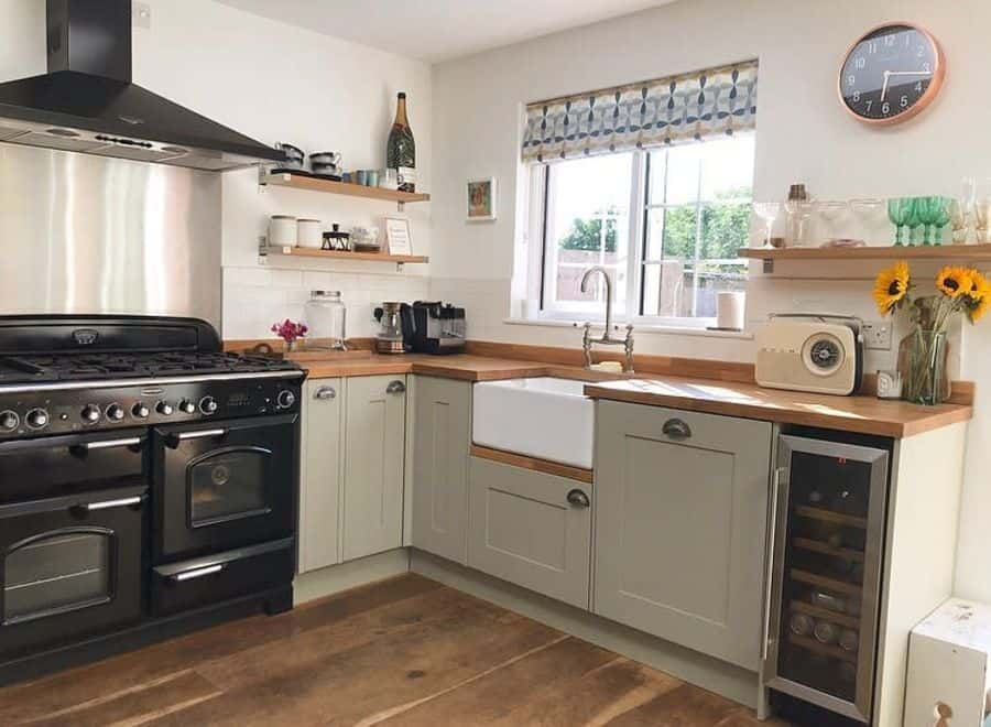 simple country kitchen ideas spire.cottage