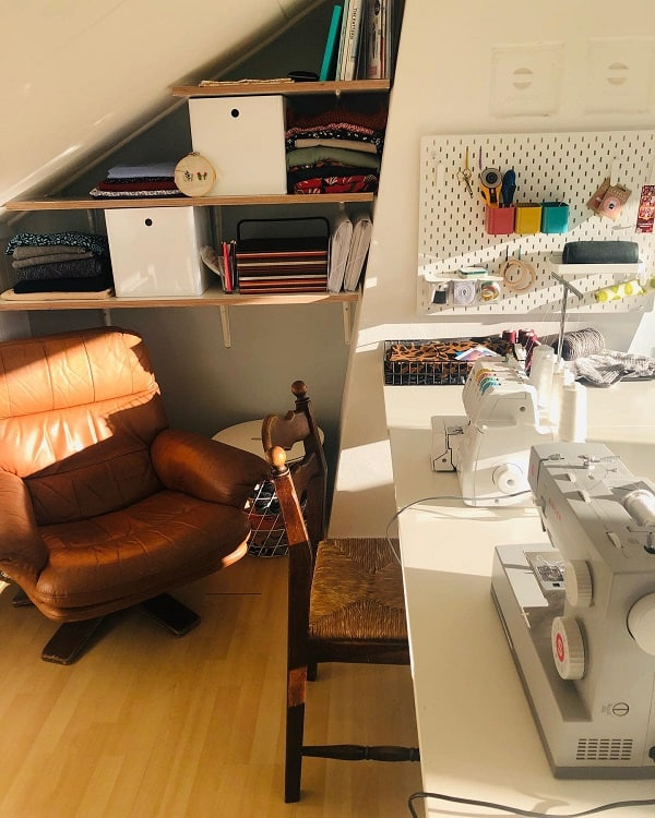Simple Craft Room Organization