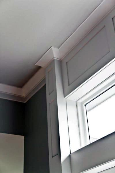 Simple Crown Molding Ideas