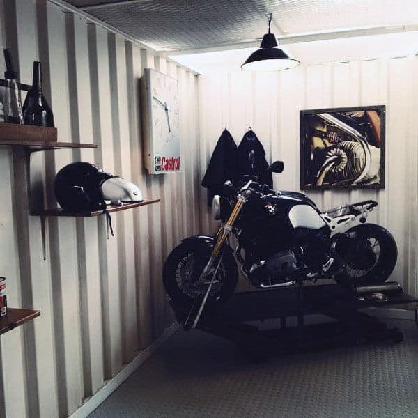 Cool Garage Ideas 16: 100 Garage Storage Ideas For Men