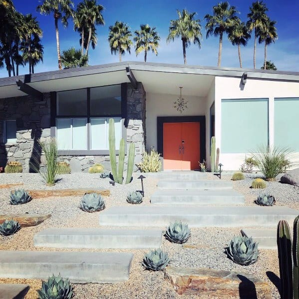 Simple Desert Landscape Ideas For Front Yard
