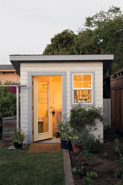 Simple Designs Backyard Shed