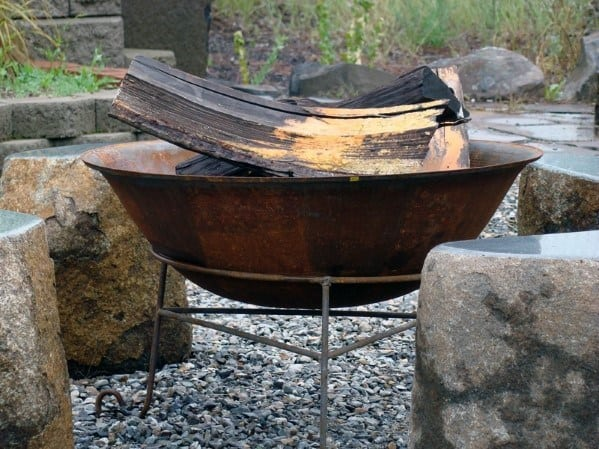Simple Designs Steel Fire Pits