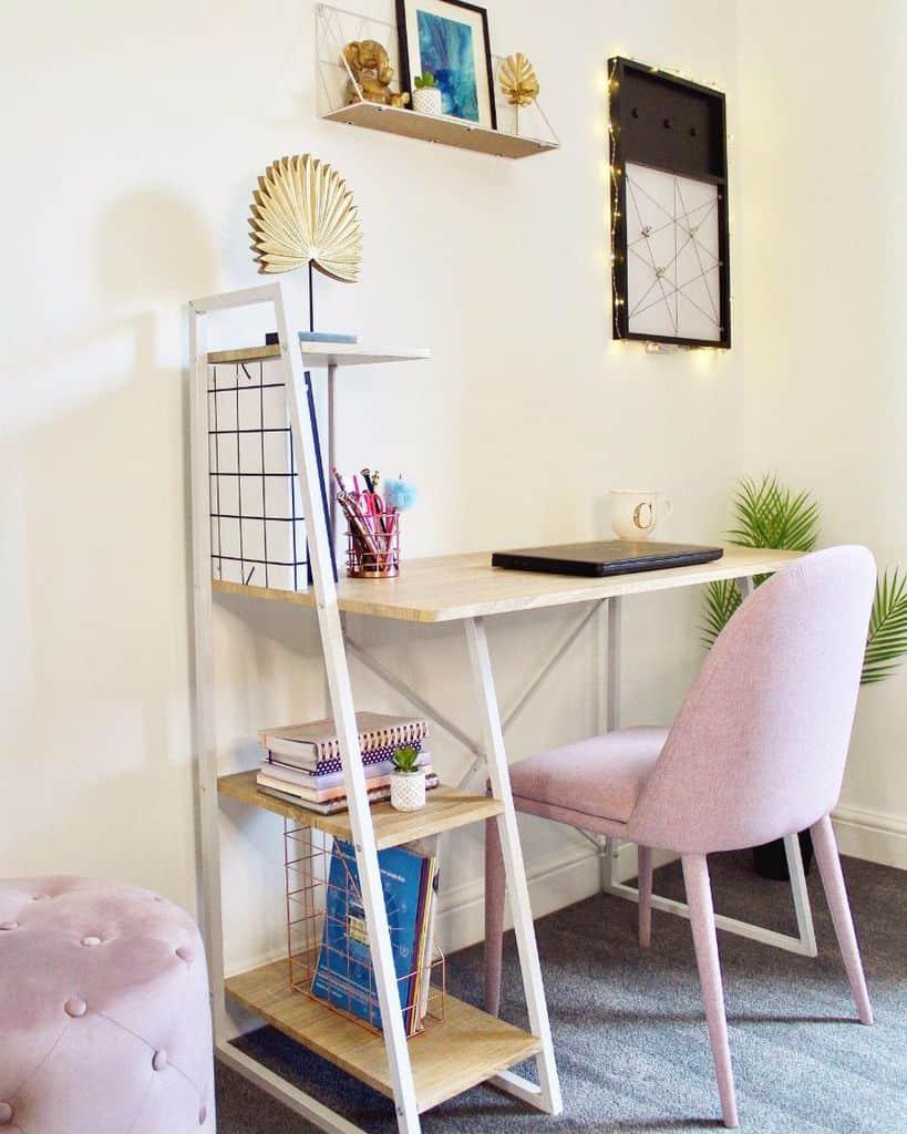 simple desk setup ideas cassie.home