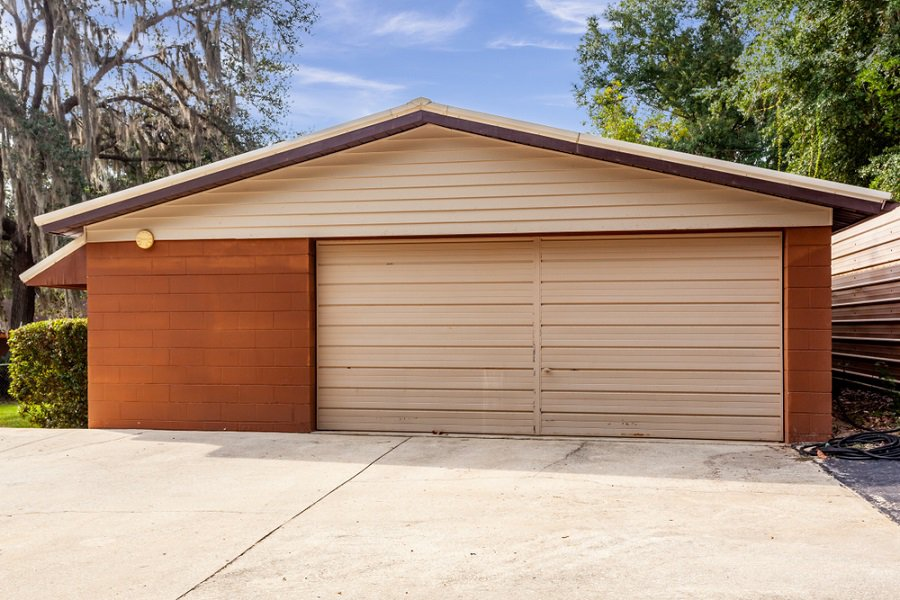 Shutter Look Garage Door Ideas With Windows On Top