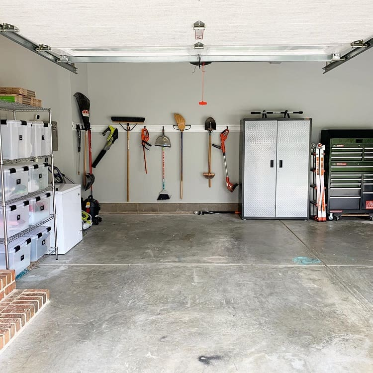 Simple Diy Garage Storage System Charlotteneat