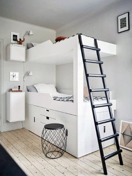 Simple Double Bunk Bed Ideas