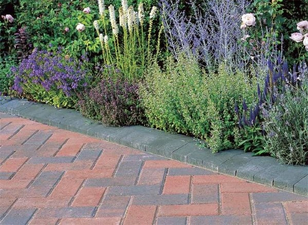 Simple Driveway Edging Ideas