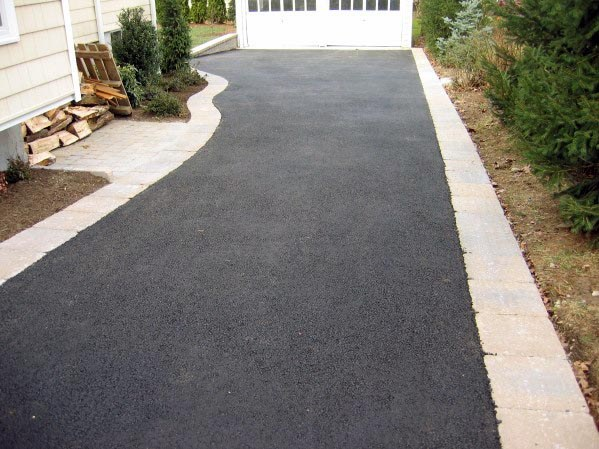 Top 40 Best Driveway Edging Ideas Inviting Border Designs