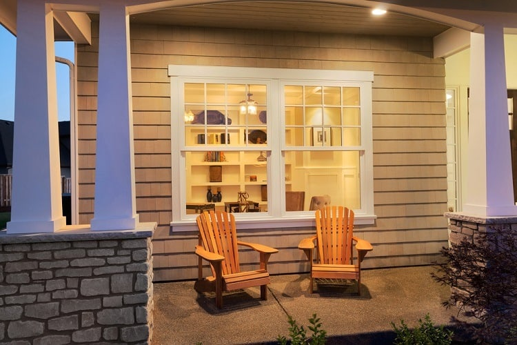 Simple Exterior Window Trim Double And Bay Window