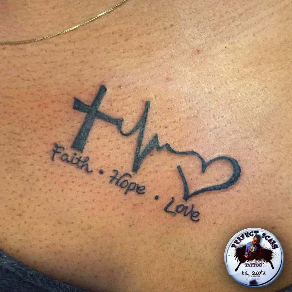 simple faith hope love tattoos perfectscarsink