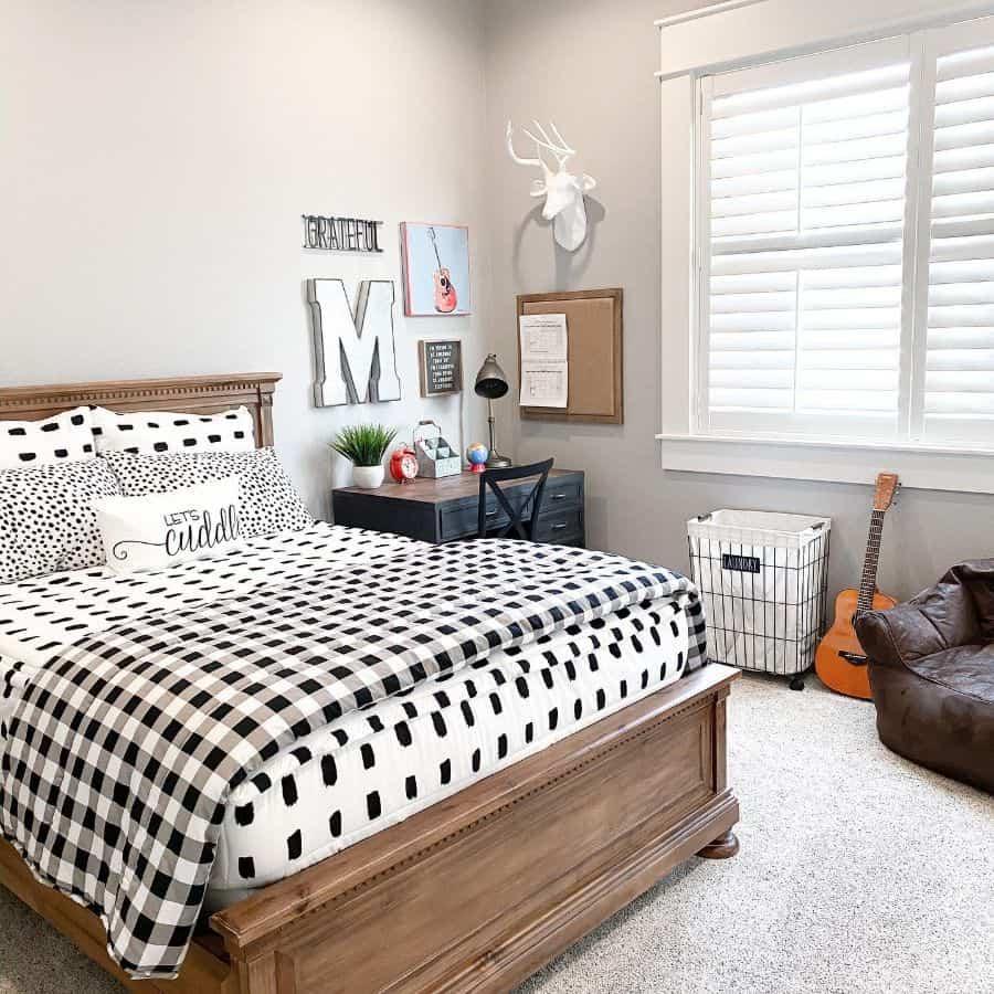 simple farmhouse bedroom ideas houseofmurphy