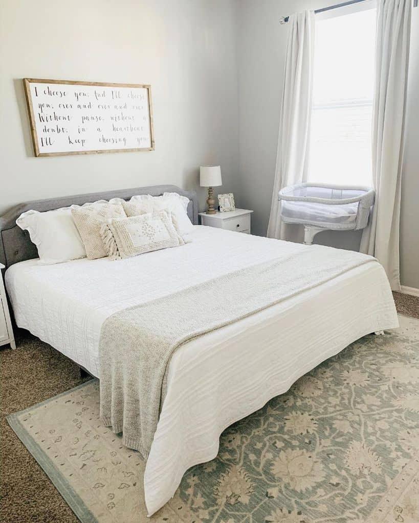 simple farmhouse bedroom ideas simplesweetalmostcomplete