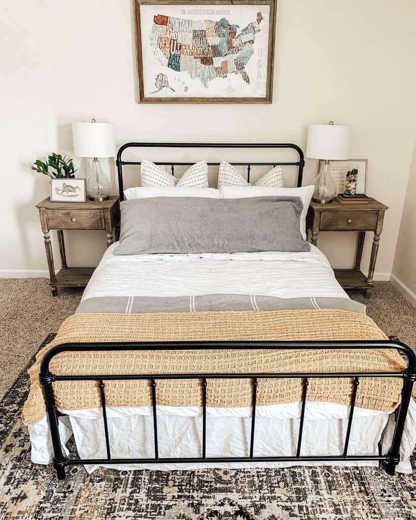 simple farmhouse bedroom ideas thesimplyblessednest