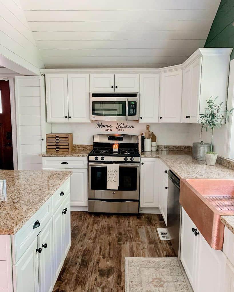 simple farmhouse kitchen ideas diapersanddecor