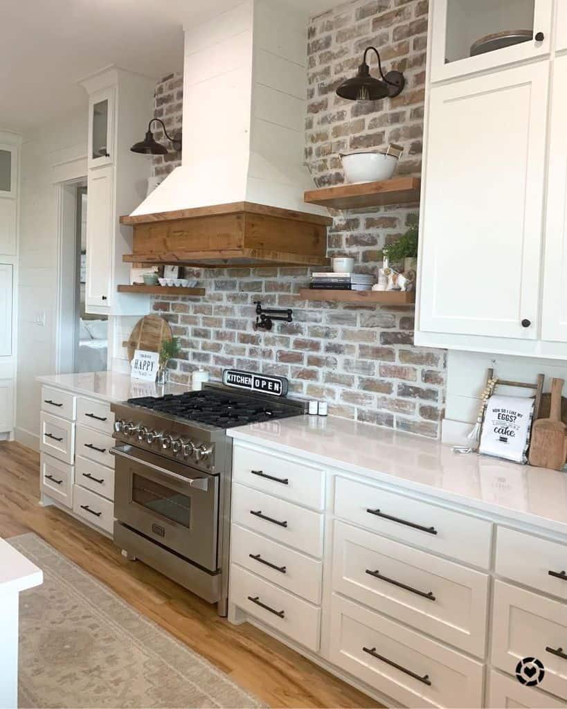 simple farmhouse kitchen ideas forever.six.acres