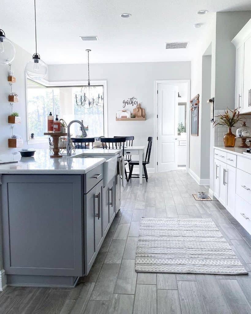 simple farmhouse kitchen ideas prettythings_and_coffee