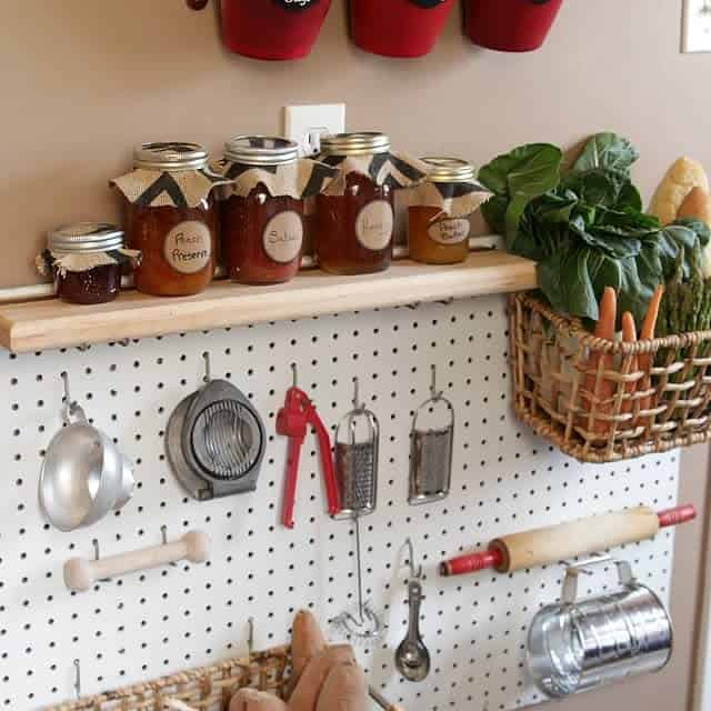 Simple Functional Kitchen Pegboard Ideas Dimiko Dp