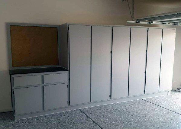 Simple Garage Cabinet Ideas