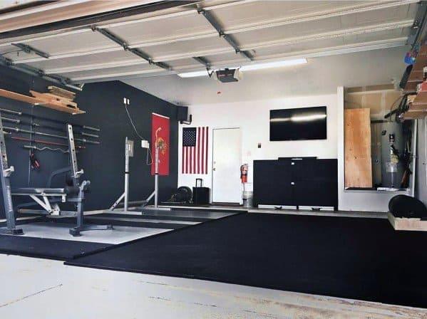 Simple Garage Gym Ideas