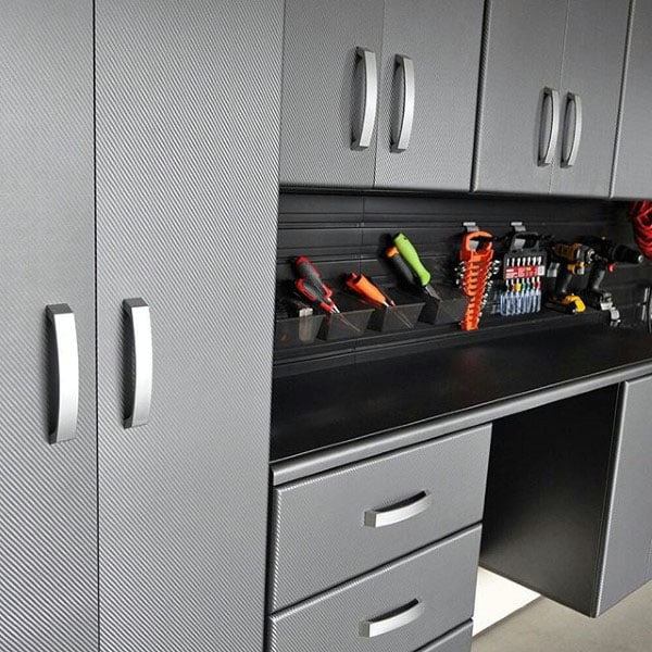 Simple Garage Storage Cabinet Design Ideas