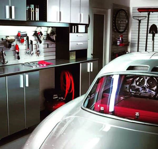Simple Garage Storage Design Inspiration