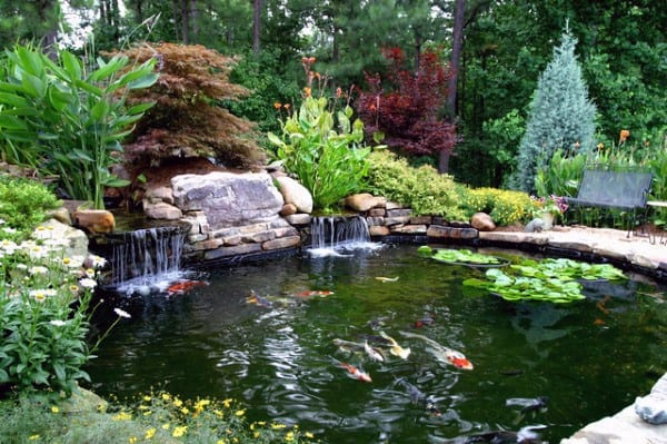 Top 50 Best Backyard Pond Ideas - Outdoor Water Feature ... on Backyard Pond Landscaping Ideas id=70402