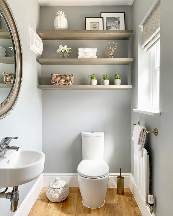 grey small bathroom paint ideas