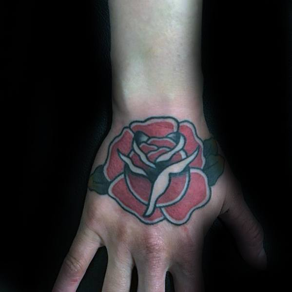 70 Simple Hand Tattoos For Men Cool Ink Design Ideas