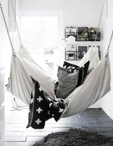 Simple Hanging Bed Ideas