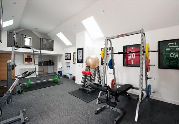 Simple Home Gym Inspiration