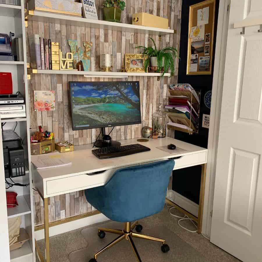 simple home office desk ideas dundasvespagirl