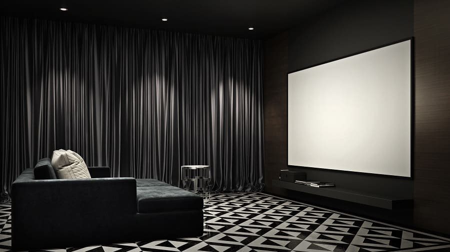Exceptional Home Theater Tan Leather Seats Ideas
