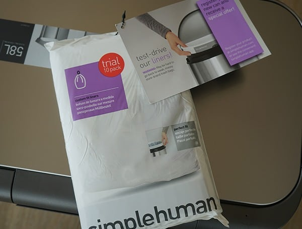 Simple Human 58 Liter Rectangular Trash Can Bags