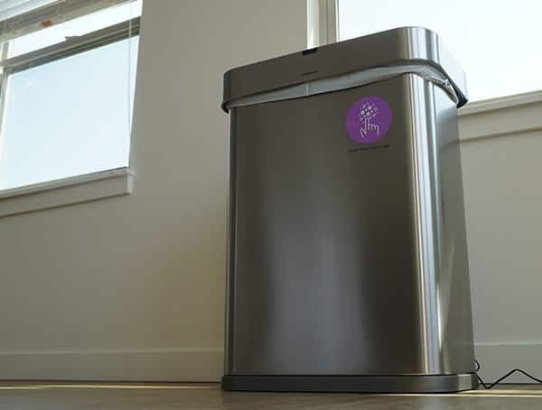Simple Human 58 Liter Rectangular Trash Can Review