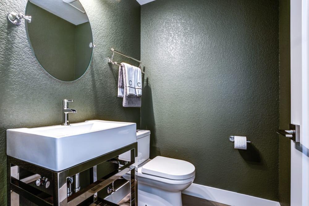 Simple Interior Powder Room Ideas 1