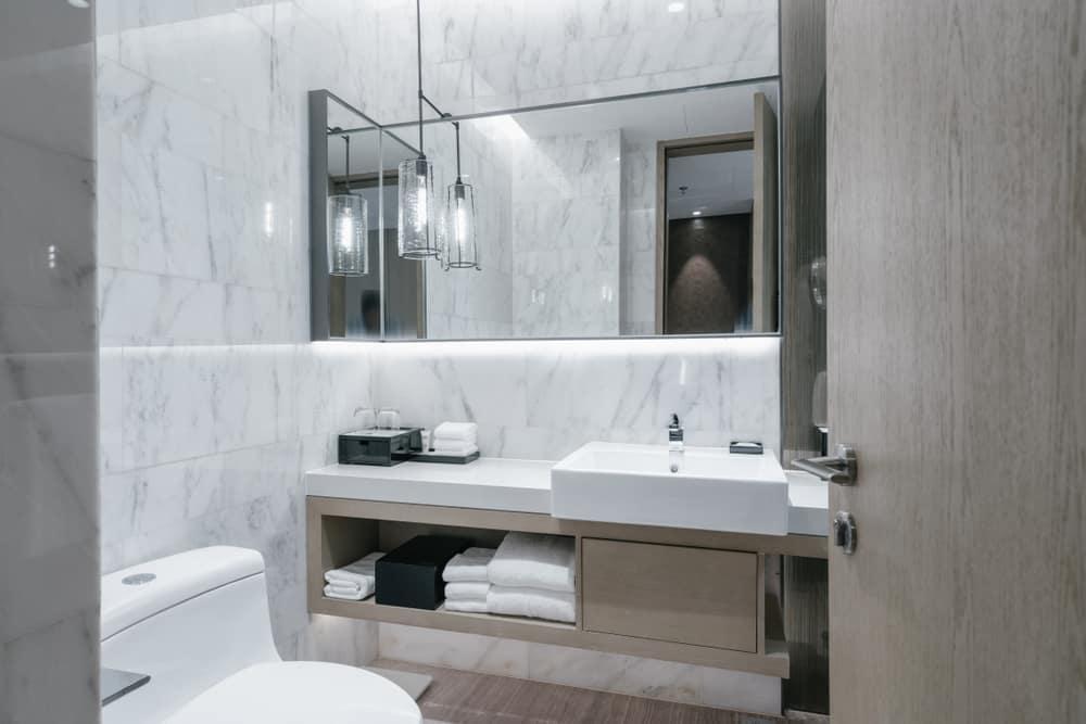 Simple Interior Powder Room Ideas 3