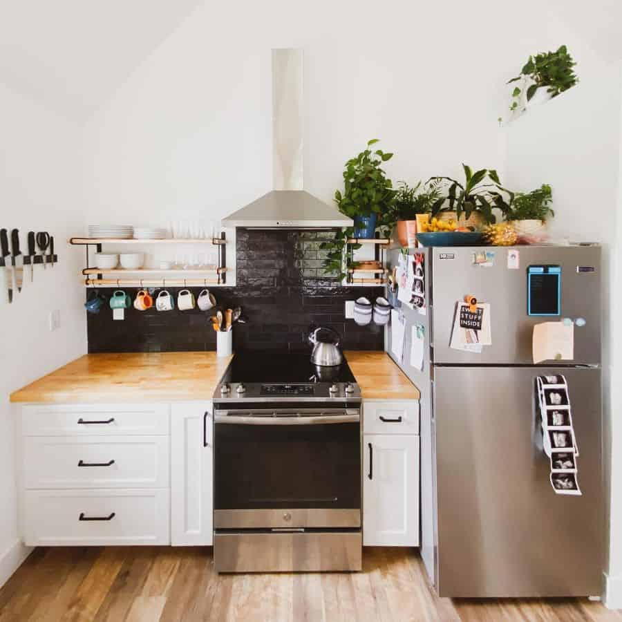 simple kitchenette ideas thenewsmallhouse