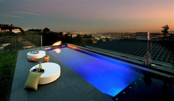 75 swimming pool designs for men cool ideas to soak in - Swimming pool lighting design ...