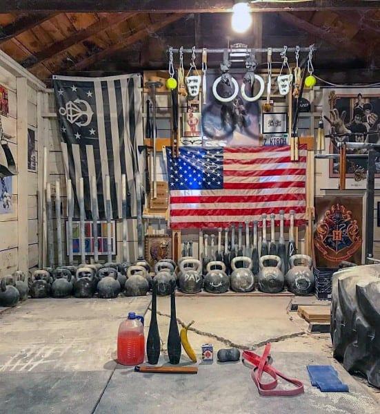 Simple Layout Garage Gym