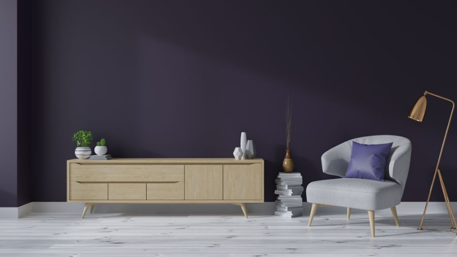 Simple Living Room Interior 2