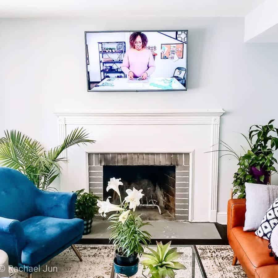 Simple Living Room Interior Addisonjamesknits