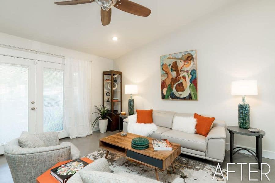Simple Living Room Interior Pacheinteriorsandevents