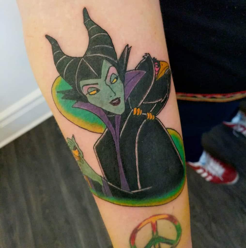 Simple Maleficent Tattoos Atlanticantattoo
