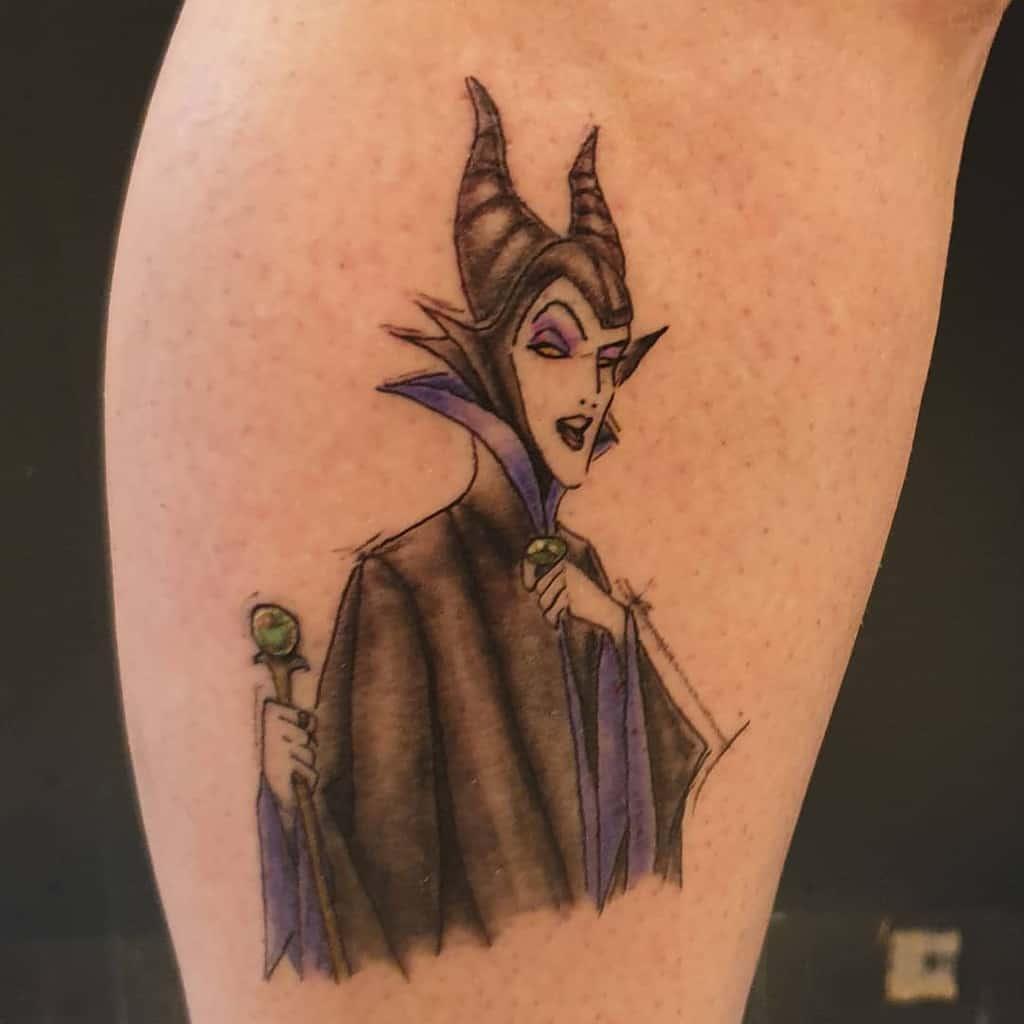 Simple Maleficent Tattoos Ster.tattoo